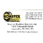 Bowater Backhoe Services LTD B